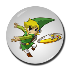 "Link - The Wind Waker 1.5"" Pin"