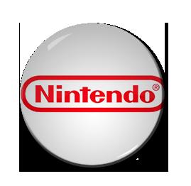 "Nintendo Logo 1.5"" Pin"