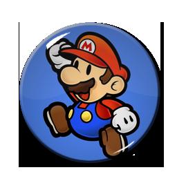 """Mario 1.5"""" Pin"""