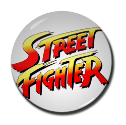 "Street Fighter 1.5"" Pin"