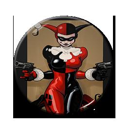 "Harley Quinn 1.5"" Pin"