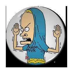 "Beavis and Butt-head - The Great Cornholio 1.5"" Pin"