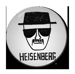 "Heisenberg 1.5"" Pin"