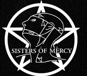 "Sisters of Mercy - Logo 5x5"" Printed Patch"