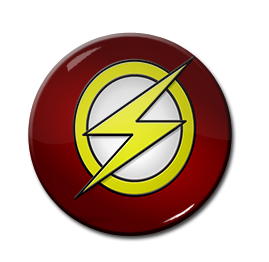 "The Flash 1.5"" Pin"