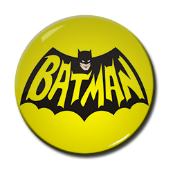 "Batman - Face Logo 1.5"" Pin"