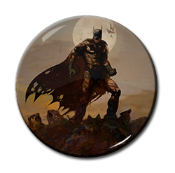"Batman - Zombie 1.5"" Pin"