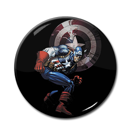 "Captain America - Comic 1.5"" Pin"