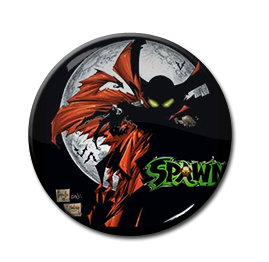 "Spawn - Moon 1.5"" Pin"