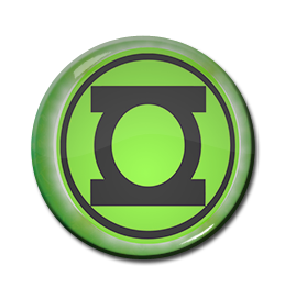"Green Lantern Logo 1.5"" Pin"