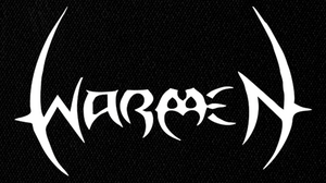 "Warmen - Logo 6x4"" Printed Patch"