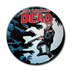 "The Walking Dead - Sheriff 1.5"" Pin"
