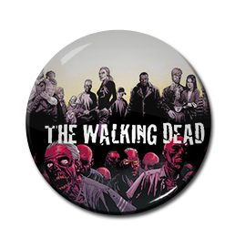 "The Walking Dead - Heroes and Zombies 1.5"" Pin"
