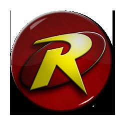 """Robin - Logo 1.5"""" Pin"""