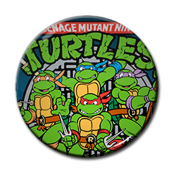 "Teenage Mutant Ninja Turtles 1.5"" Pin"