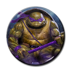 "TMNT - Donatello 1.5"" Pin"