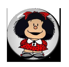 """Mafalda 1.5"""" Pin"""