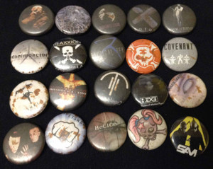 20 Piece Pin Lot - Poison Arts, Volcom , Atoxxxico, The Jam, FOD + More!