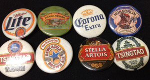 8 Piece Pin Lot - Miller Lite, Sierra Nevada, Corona, Tsingtao + More!