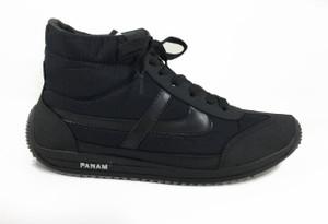 Panam - Hi Top Black Unisex Sneaker