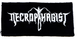 "Necrophagist - Logo 7x4"" Printed Patch"