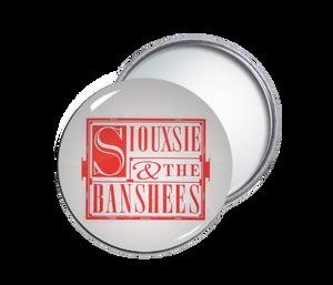 Siouxsie & the Banshees Round Pocket Mirror