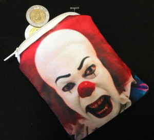 Go Rocker - Pennywise the Clown's Face Coin Purse