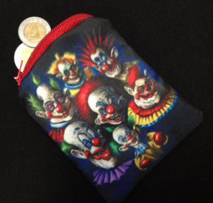 Go Rocker - Killer Klowns from Outer Space Coin Purse