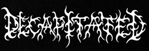 "Decapitated - Logo 6x3"" Printed Patch"
