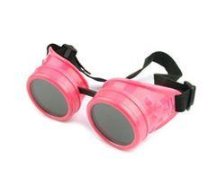 Plain Welding Goggles - Bubblegum Pink