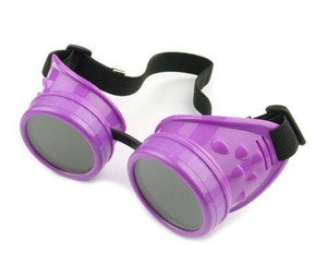 Plain Welding Goggles - Purple