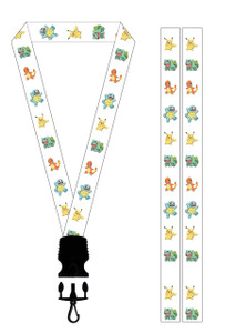 Lanyard - Pikachu and the Gang