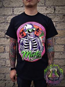 Mictia - Skeleton with  Sunglasses T-Shirt