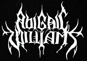 "Abigail Williams - Logo 6x4"" Printed Patch"