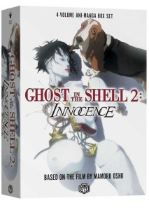 Ghost in the Shell 2: The Innocence Vol. 1-4 Manga Book