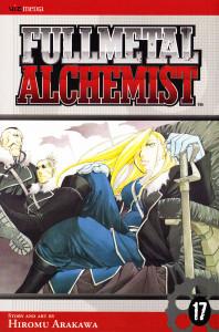 Fullmetal Alchemist Vol. 17 Manga Book