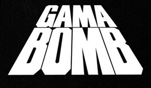 "Gama Bomb - Logo 7x5"" Printed Patch"