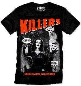 Killers Never Die  * Vampirella - Dying to Meet You T-Shirt