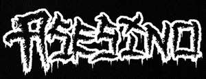 "Asesino - Logo 7x3"" Printed Patch"
