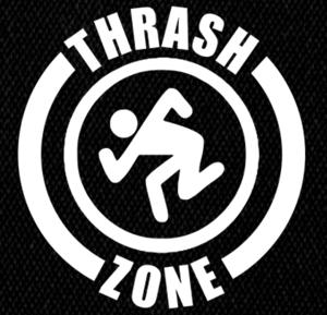 "D.R.I. - Thrash Zone 5x5"" Printed Patch"
