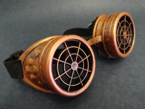 Goggles - Copper Target