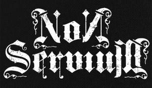 """Non Servium 7x4"""" Printed Patch"""