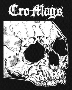 "Cro-Mags - Skull 5X6"" Printed Patch"