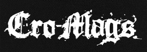 "Cro-Mags - Logo 8X3"" Printed Patch"
