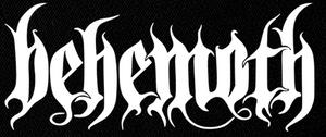 "Behemoth - Logo 9x4"" Printed Patch"