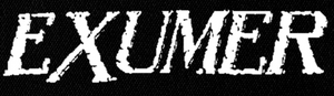 "Exumer - Logo 5x2"" Printed Patch"
