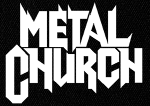 "Metal Church - Logo 5x4"" Printed Patch"