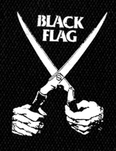 """Black Flag - Everything Went Black 5x6"""" Printed Patch"""