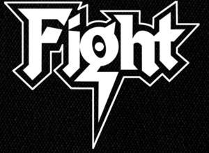 "Fight - Logo 5x4"" Printed Patch"
