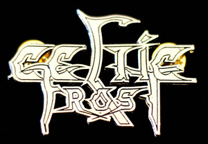 "Celtic Frost - Logo 2"" Metal Badge Pin"